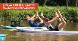 Yoga on the Bayou- Stand Up Paddleboard (SUP)