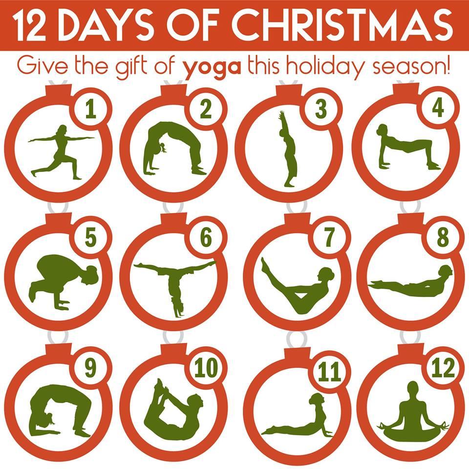 12 Days Of Christmas Bayou Yoga