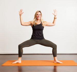 poses  goddess pose  bayou yoga