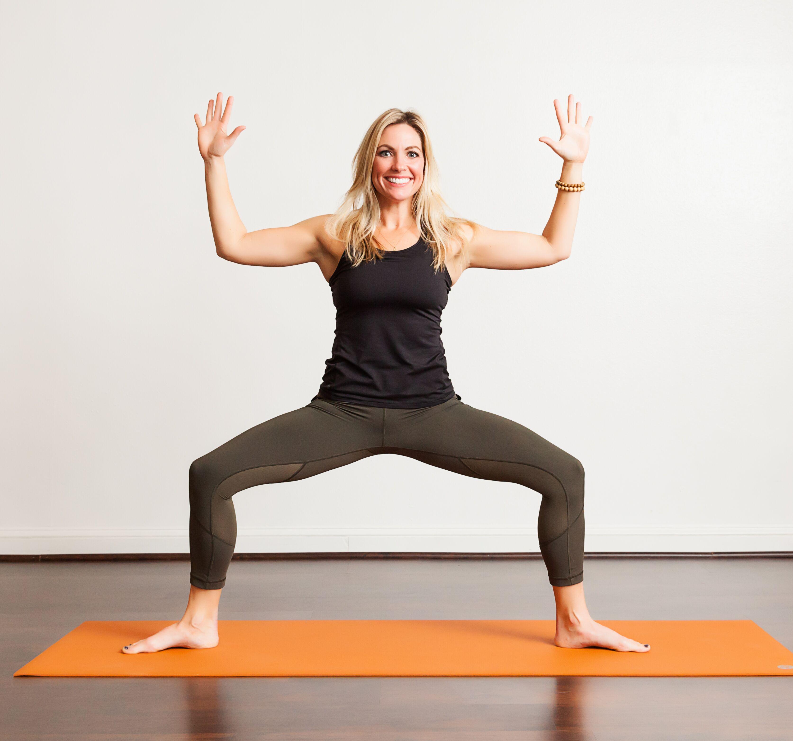 Poses - Goddess Pose - Bayou Yoga